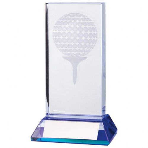Davenport Golf Crystal Award 120mm